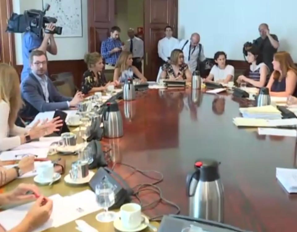 Unanimidad política en 200 medidas para lograr el Pacto de Estado contra la violencia de género
